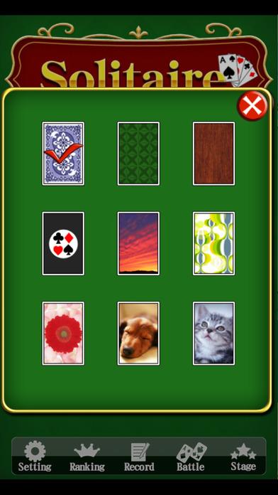 ソリティア - 大人気の定番トランプゲームのスクリーンショット_4