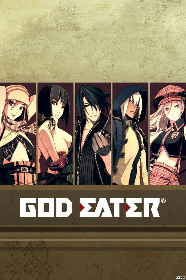 GOD EATER BURST>> WALLPAPER COLLECTION (ゴッドイーターバースト公式壁紙)のスクリーンショット_5