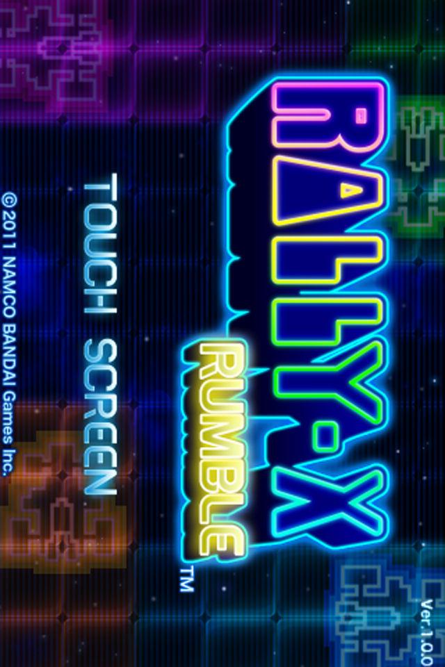 RALLY-X RUMBLEのスクリーンショット_1