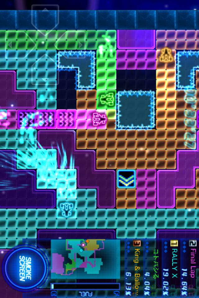 RALLY-X RUMBLEのスクリーンショット_2