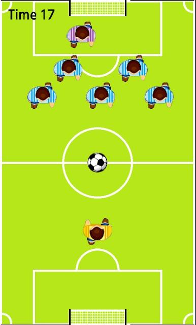 ぼっちサッカー。。シュートをきめろ!のスクリーンショット_3