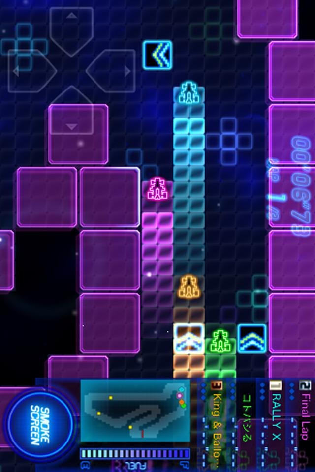 RALLY-X RUMBLEのスクリーンショット_3