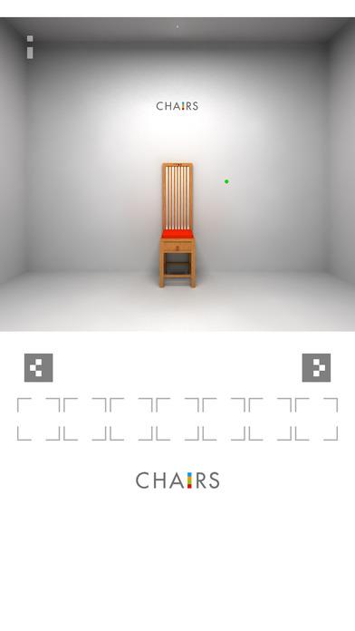 脱出ゲーム「椅子」のスクリーンショット_2