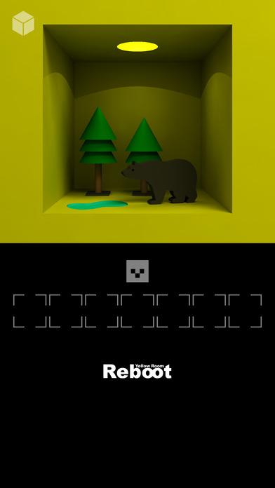 脱出ゲーム「黄色い部屋リブート」のスクリーンショット_3