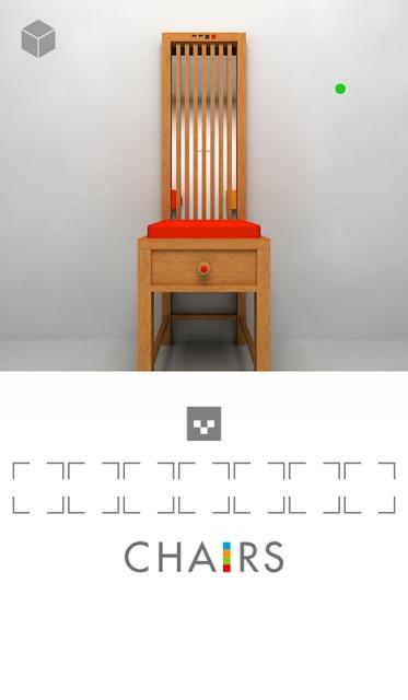 脱出ゲーム「椅子」のスクリーンショット_3