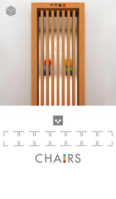 脱出ゲーム「椅子」のスクリーンショット_4