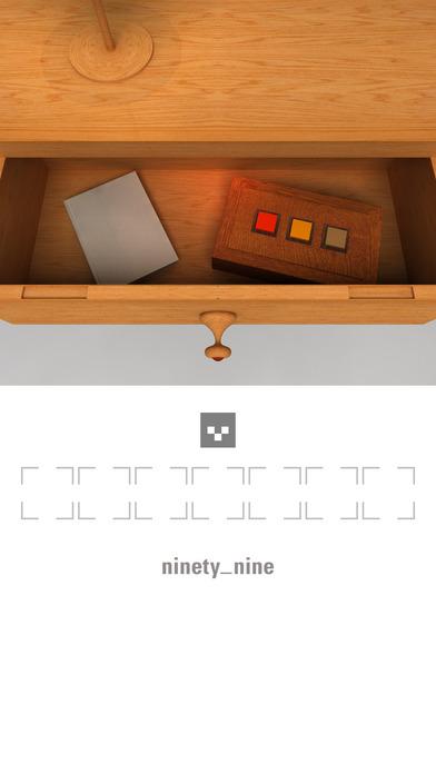 脱出ゲーム「99」のスクリーンショット_3
