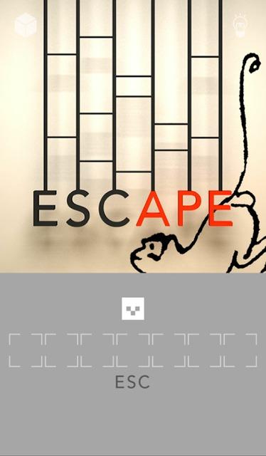 脱出ゲーム「ESC」のスクリーンショット_2