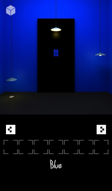 脱出ゲーム「ブルー」のスクリーンショット_2