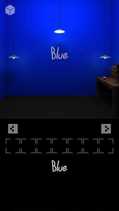 脱出ゲーム「ブルー」のスクリーンショット_1