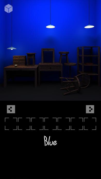 脱出ゲーム「ブルー」のスクリーンショット_4