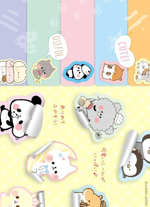 無料♪メモ帳・人気の可愛いキャラクター達のスクリーンショット_2