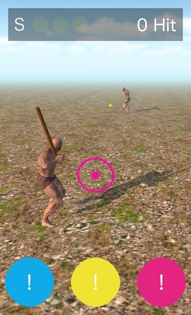 野球大好き!3色バッティングのスクリーンショット_2