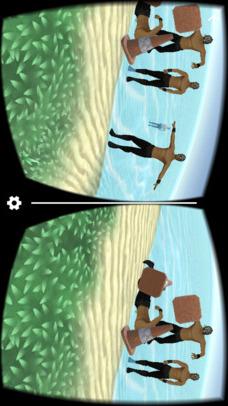 VR Desert Island for Google CardBoardのスクリーンショット_2