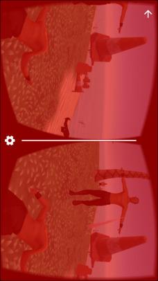 VR Desert Island for Google CardBoardのスクリーンショット_4