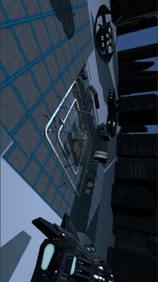 VR FPS in Space for Google CardBoardのスクリーンショット_1