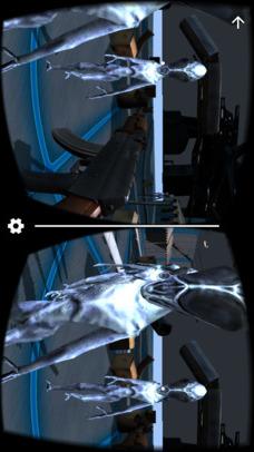 VR FPS in Space for Google CardBoardのスクリーンショット_2