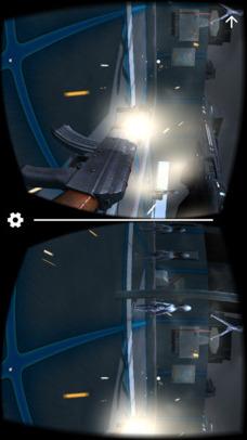 VR FPS in Space for Google CardBoardのスクリーンショット_3
