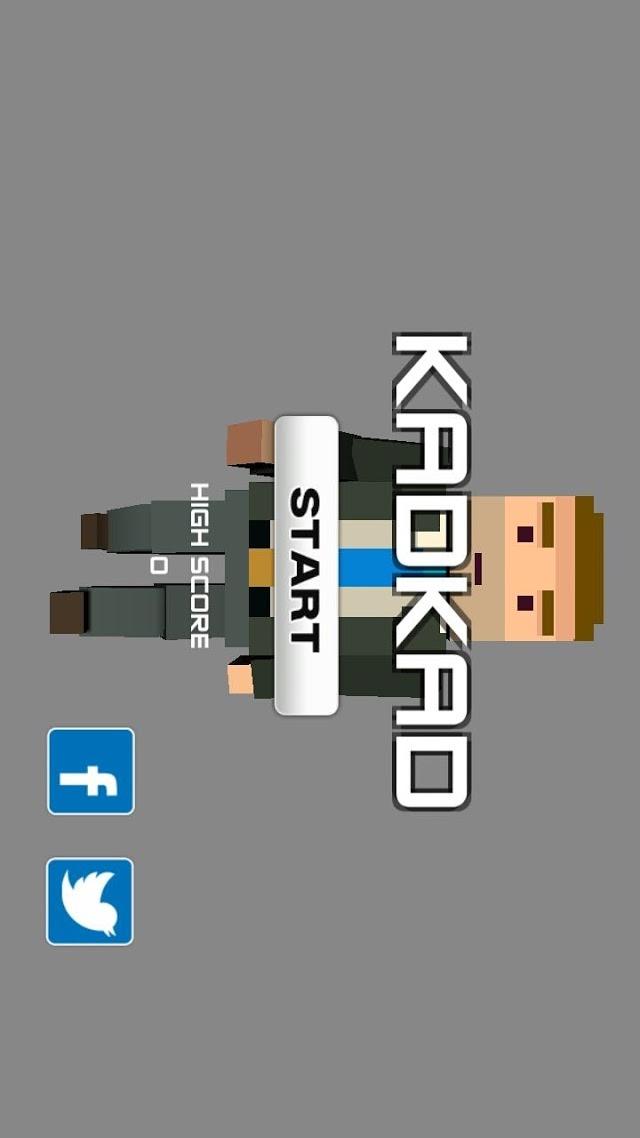 無料アクションゲーム KADKAD(カドカド)のスクリーンショット_1