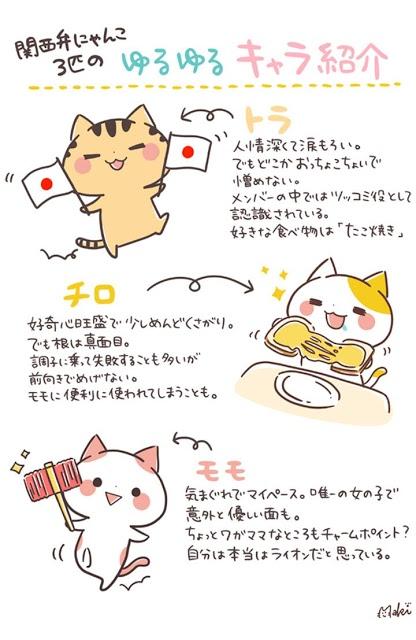 かわいい時計「関西弁にゃんこ」アナログ時計ウィジェット無料のスクリーンショット_5