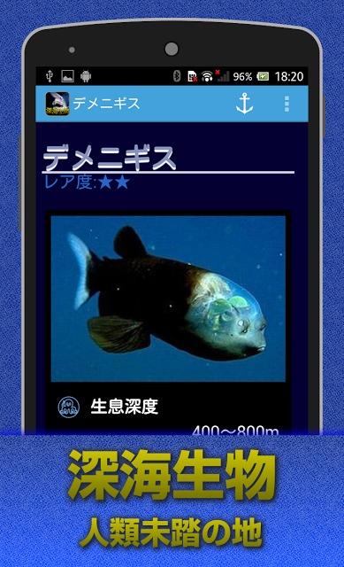 深海生物 闇に潜む謎の生物達・・・のスクリーンショット_1