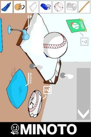 野球少年の脱出ゲームのスクリーンショット_1