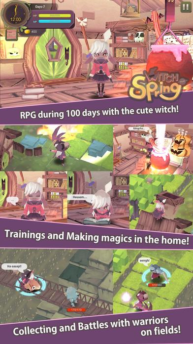 WitchSpringのスクリーンショット_2