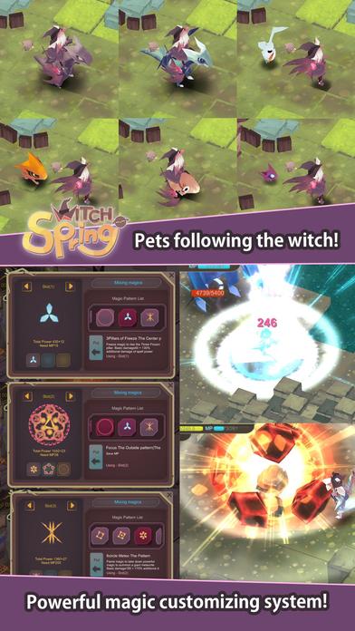 WitchSpringのスクリーンショット_3