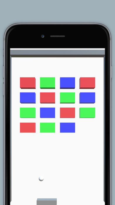 3Dブロック崩し2 - 爽快感のあるシンプルで簡単な無料ゲームのスクリーンショット_1