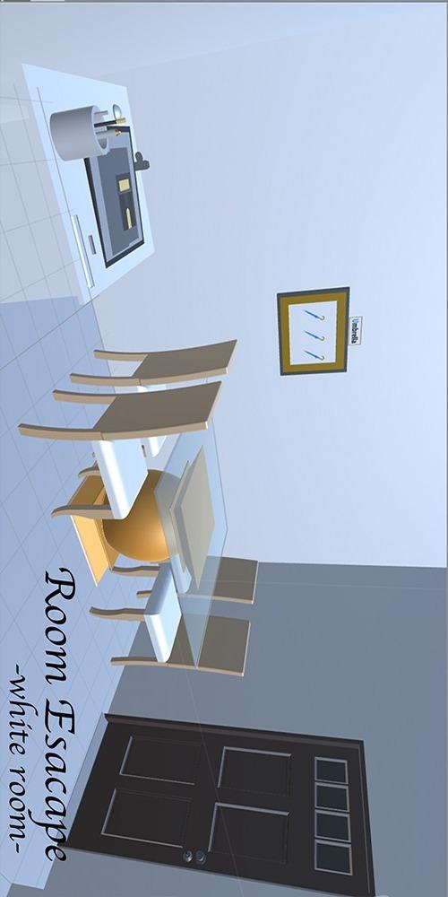 脱出ゲーム 白い部屋 Room Escape -white-のスクリーンショット_1