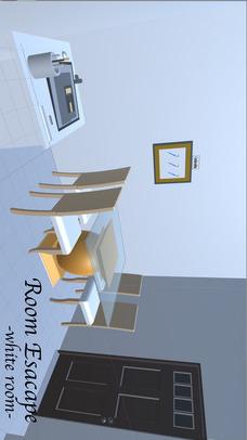 脱出ゲーム 白い部屋 Room Escape -white room-のスクリーンショット_1