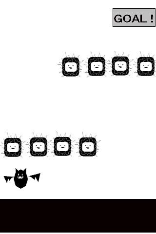 イライラ棒的コウモリのスクリーンショット_1