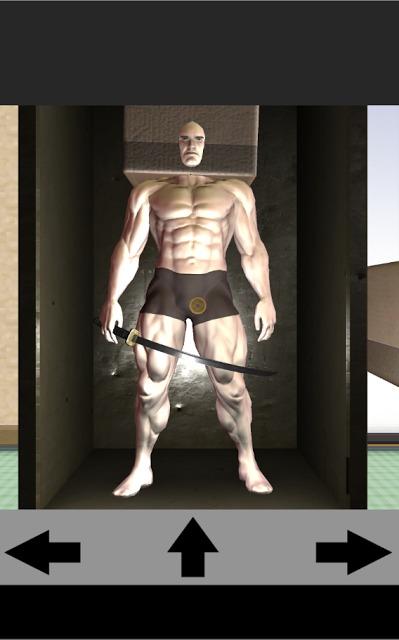 脱出ゲーム~段ボール筋肉男ハウスでコイン集め~のスクリーンショット_1