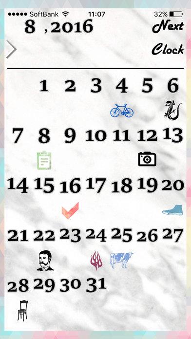 スケジュール&カレンダー *Cliffのスクリーンショット_4