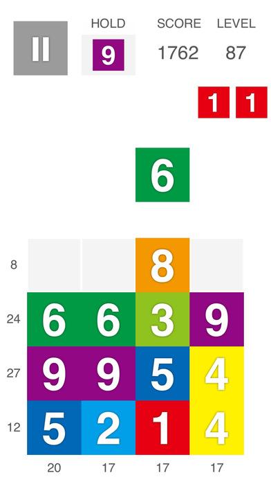 XTRIS - テントリス  [ 新感覚な計算パズルゲーム ]のスクリーンショット_3