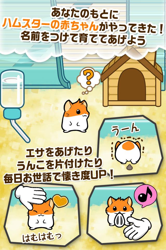 ハムスターストーリー 【ハムスター育成ゲーム】のスクリーンショット_1
