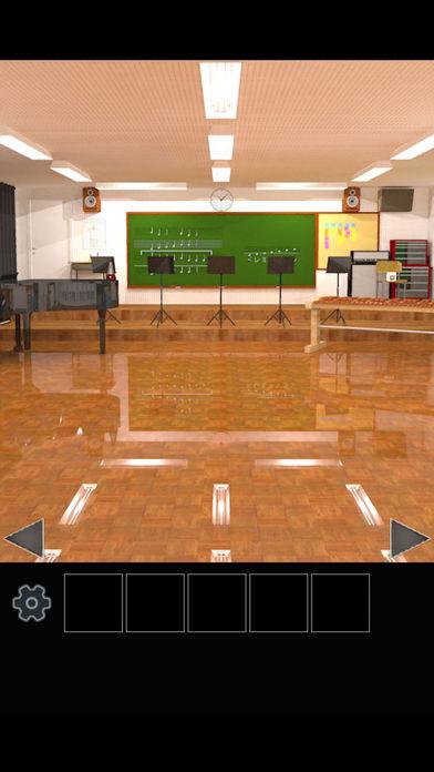 脱出ゲーム 学校の音楽室から脱出のスクリーンショット_1