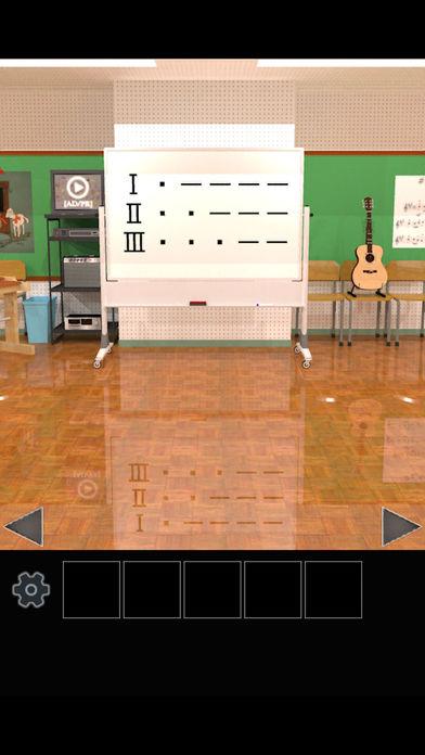 脱出ゲーム 学校の音楽室から脱出のスクリーンショット_3
