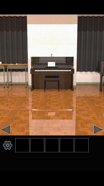 脱出ゲーム 学校の音楽室から脱出のスクリーンショット_2
