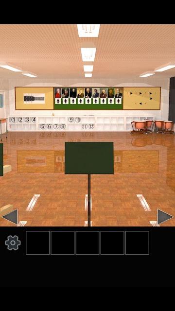 脱出ゲーム 学校の音楽室から脱出のスクリーンショット_4