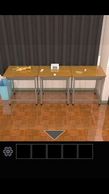脱出ゲーム 学校の音楽室から脱出のスクリーンショット_5