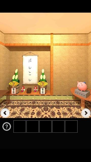 脱出ゲーム お年玉のスクリーンショット_1