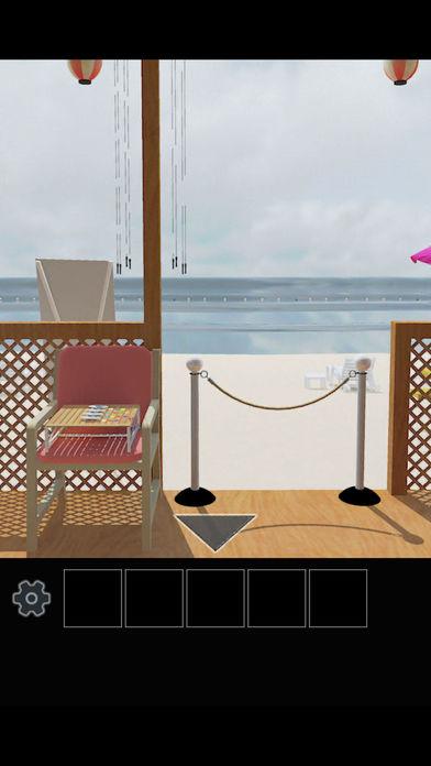 脱出ゲーム 常夏の海の家から脱出のスクリーンショット_5