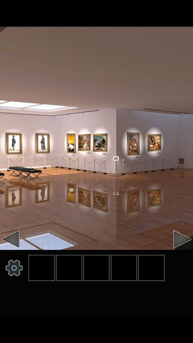 脱出ゲーム 美術館からの脱出のスクリーンショット_2