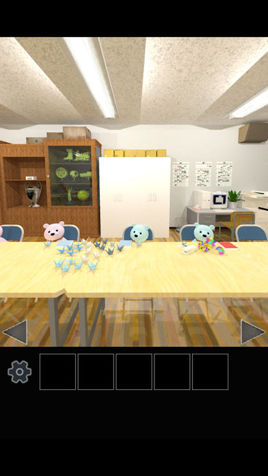 脱出ゲーム クマたちの生徒会室から脱出のスクリーンショット_2