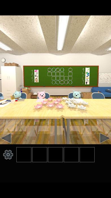 脱出ゲーム クマたちの生徒会室から脱出のスクリーンショット_4