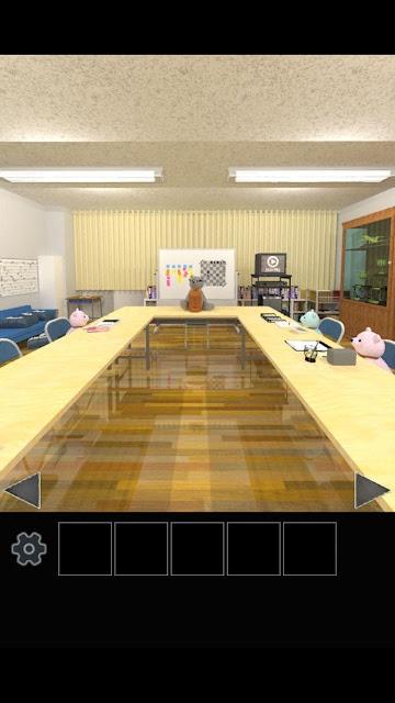 脱出ゲーム クマたちの生徒会室から脱出のスクリーンショット_1