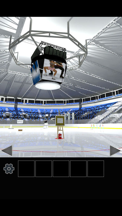 脱出ゲーム フィギュアスケート会場からの脱出のスクリーンショット_5