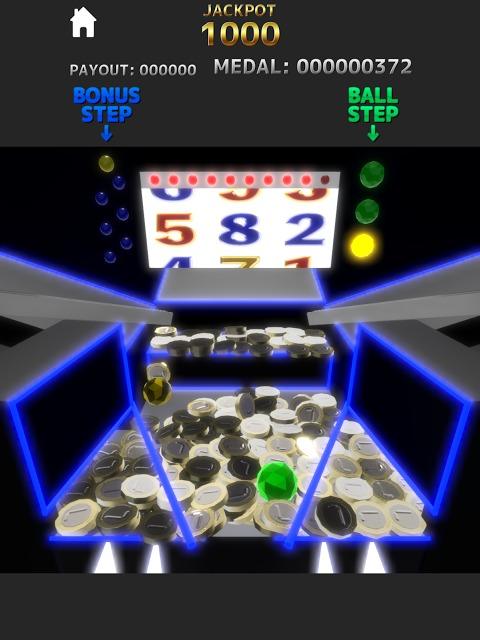 メダルゲーム Luminous Pusherのスクリーンショット_5