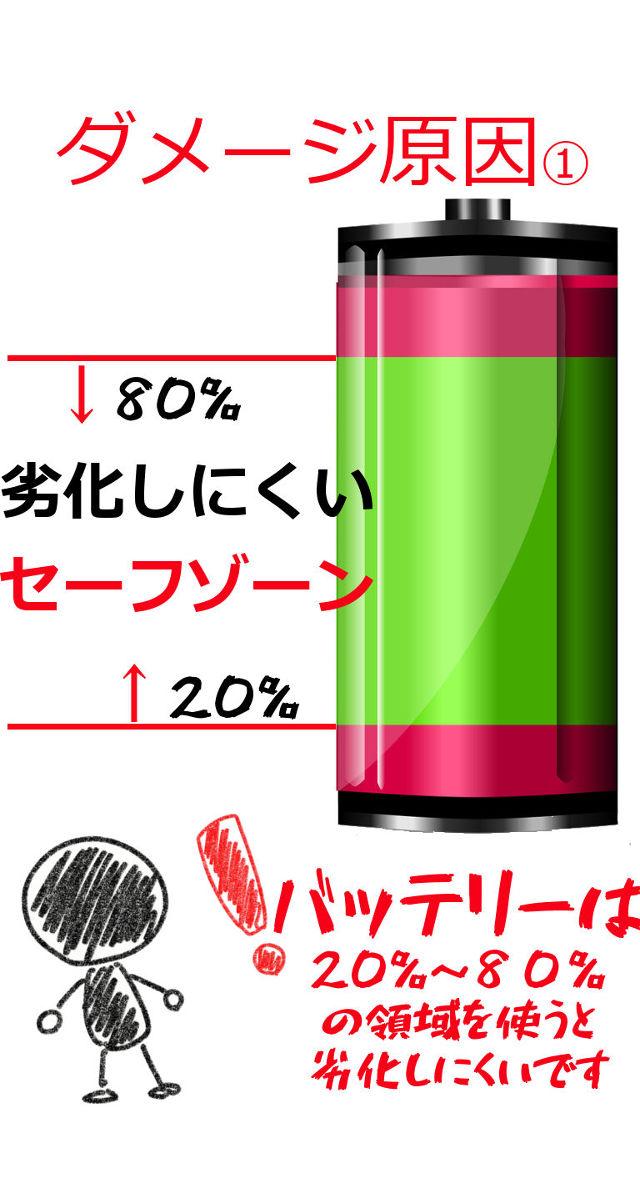 バッテリー 劣化警報のスクリーンショット_2